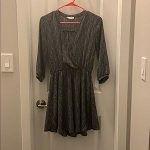 Polka dot 3 Quarter Sleeve Dress